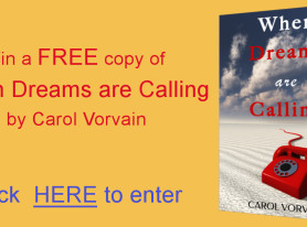 When Dreams are Calling – Goodreads Giveaway