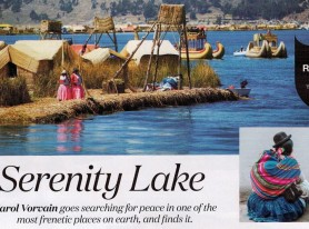 When Dreams are Calling Featured In The International Traveller Magazine