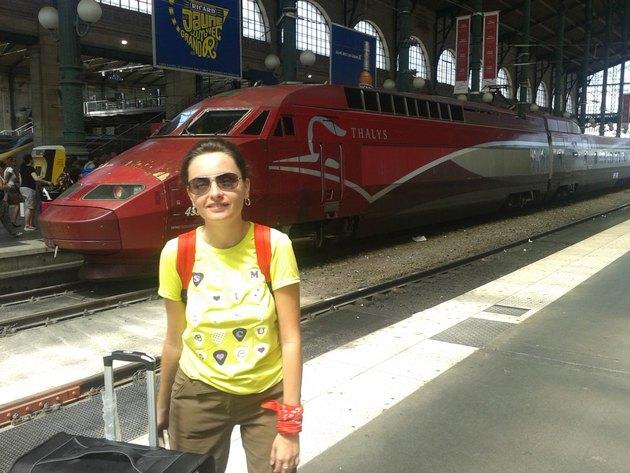 Bye-Bye Paris. TGV to The Hague!